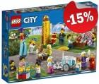 LEGO 60234 Personenset Kermis, slechts: € 38,24