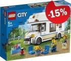 LEGO 60283 Vakantie Camper, slechts: € 16,99