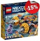 LEGO 70354 Axl's Rumble Maker, slechts: € 38,24