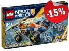 LEGO 70355 Aarons Rock Climber, slechts: € 55,24