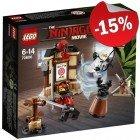 LEGO 70606 Spinjitsu Training, slechts: ¬ 8,49