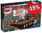 LEGO 70618 Destiny's  Bounty, slechts: ¬ 144,49