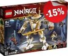 LEGO 71702 Gouden Mech, slechts: € 33,99