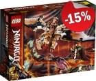 LEGO 71718 Wu's Gevechtsdraak, slechts: € 16,99