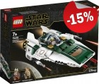 LEGO 75248 Resistance A-Wing Starfighter, slechts: € 29,74
