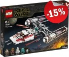 LEGO 75249 Resistance Y-Wing Starfighter, slechts: € 63,74