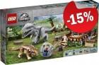 LEGO 75941 Indominus Rex VS Ankylosaurus, slechts: € 93,49