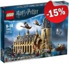LEGO 75954 De Grote Zaal van Zweinstein, slechts: € 93,49
