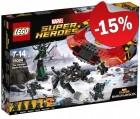 LEGO 76084 Thor 1, slechts: € 46,74