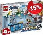 LEGO 76152 Avengers Wraak van Loki, slechts: € 55,24