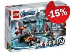 LEGO 76167 Iron Man Wapenkamer, slechts: € 29,74