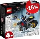 LEGO 76189 Captain America Hydra Confrontatie, slechts: € 8,49