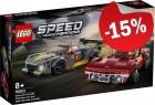 LEGO 76903 Chevrolet Corvette C8-R & 1968 C3, slechts: € 33,99