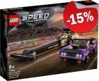 LEGO 76904 Mopar Dodge SRT Top Fuel Dragster and 1970 Dodge Chal, slechts: € 50,99