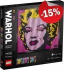 LEGO 31197 Andy Warhol's Marilyn Monroe, slechts: € 106,24