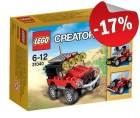 LEGO 31040 Woestijnracers