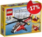 LEGO 31057 Rode Helicopter
