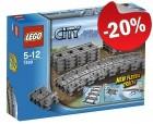 LEGO 7499 Flexibele Rails, slechts: ¬ 14,39