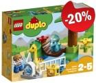 DUPLO 10879 Kinderboerderij met Vriendelijke Reuzen, slechts: € 15,99