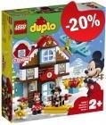 DUPLO 10889 Mickey's Vakantiehuisje, slechts: € 43,99
