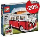 LEGO 10220 Volkswagen T1 Camper Van, slechts: € 79,99