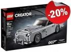 LEGO 10262 Aston Martin DB5, slechts: € 135,99