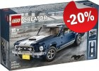 LEGO 10265 Ford Mustang GT, slechts: € 111,99