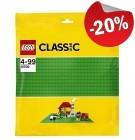 LEGO 10700 Grondplaat 32x32 HELDERGROEN, slechts: € 6,39
