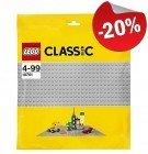 LEGO 10701 Grondplaat 48x48 LICHTGRIJS, slechts: € 12,79