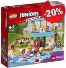 LEGO 10763 Stephanie's Huisje aan het Meer, slechts: € 27,99