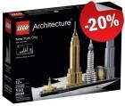 LEGO 21028 New York, slechts: € 47,99