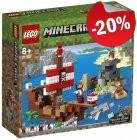 LEGO 21152 Avontuur Op Het Piratenschip, slechts: € 43,99