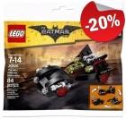 LEGO 30526 The Mini Ultimate Batmobiel (Polybag), slechts: € 3,99