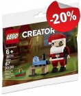 LEGO 30573 Kerstman (Polybag), slechts: € 3,19