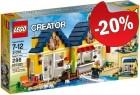 LEGO 31035 Strandhut, slechts: € 23,99