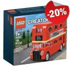 LEGO 40220 Dubbeldekker, slechts: € 19,99
