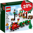 LEGO 40262 Kersttreintje, slechts: € 11,99