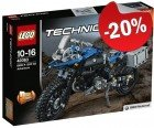 LEGO 42063 BMW R 1200 GS Adventure, slechts: € 43,99