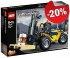 LEGO 42079 Robuuste Vorkheftruck, slechts: € 43,99