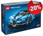 LEGO 42083 Bugatti Chiron, slechts: € 319,99