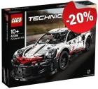 LEGO 42096 Porsche 911 RSR, slechts: € 119,99