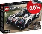 LEGO 42109 App Gestuurde Top Gear Rally Auto, slechts: € 103,99
