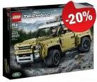 LEGO 42110 Land Rover Defender, slechts: € 143,99