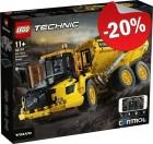 LEGO 42114 Volvo 6x6 Truck met Kieptrailer, slechts: € 199,99