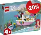 LEGO 43191 Ariel's Feestboot, slechts: € 27,99