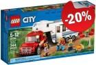 LEGO 60182 Pick-uptruck en Caravan, slechts: € 23,99