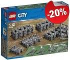 LEGO 60205 Rechte en Gebogen Rails, slechts: € 14,39