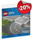 LEGO 60237 Grondplaten Bocht en Kruising, slechts: € 7,99