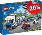 LEGO 60244 Politie Helicopter Transport, slechts: € 39,99
