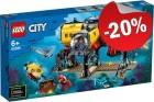 LEGO 60265 Oceaan Onderzoeksbasis, slechts: € 47,99